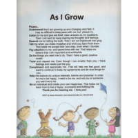 As I Grow Laminated poster