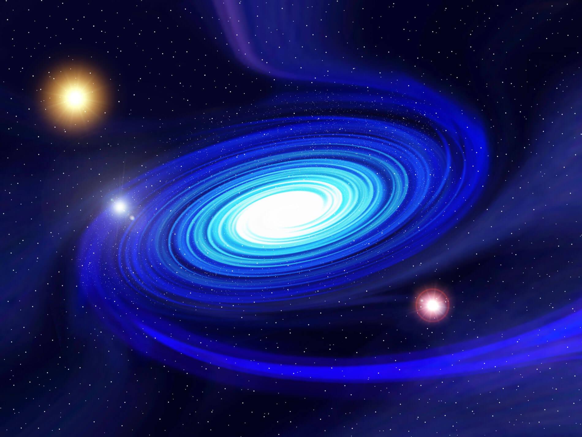 fantasy spiral galaxy