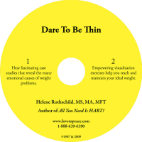 Dare to be thin CD