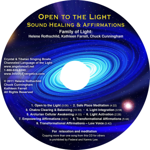 Open to the Light CD